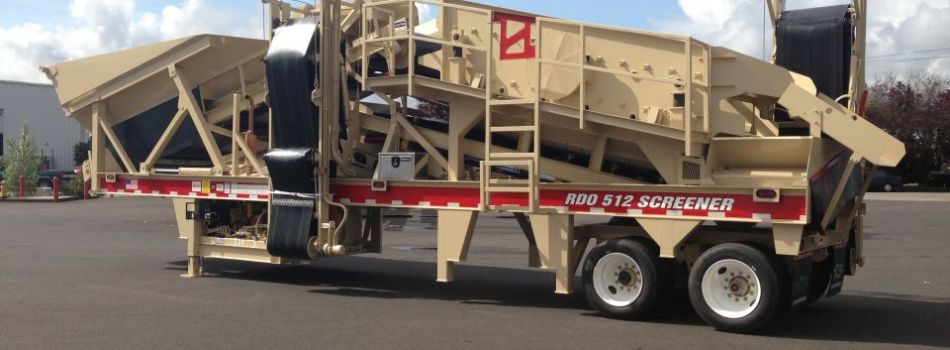 RDO 512 Screener (2 Axle)